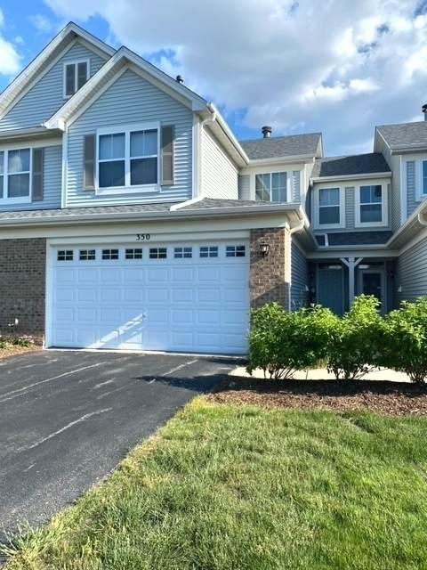 350 Chesapeake Lane 350A1, Oswego, IL 60543 (MLS #11112988) :: The Dena Furlow Team - Keller Williams Realty