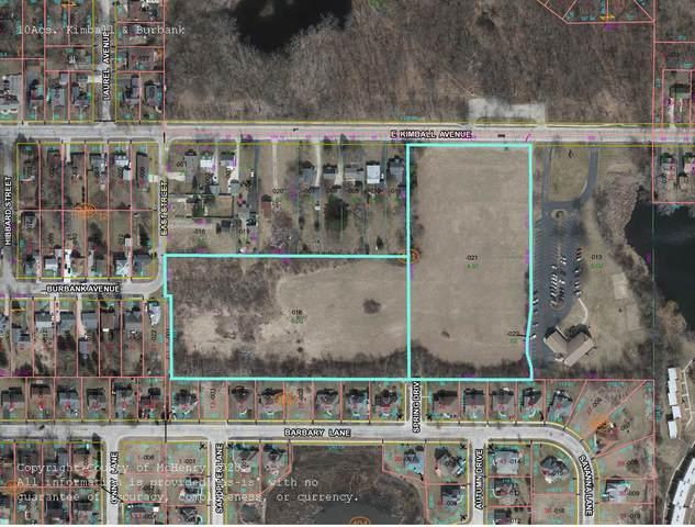 10 Acres MOL Kimball & Burbank Street, Woodstock, IL 60098 (MLS #11123405) :: Touchstone Group