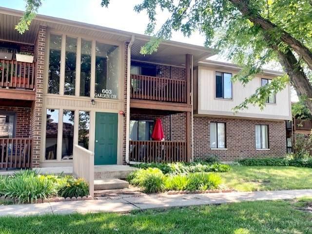 603 Garden Circle #4, Streamwood, IL 60107 (MLS #11134412) :: RE/MAX Next