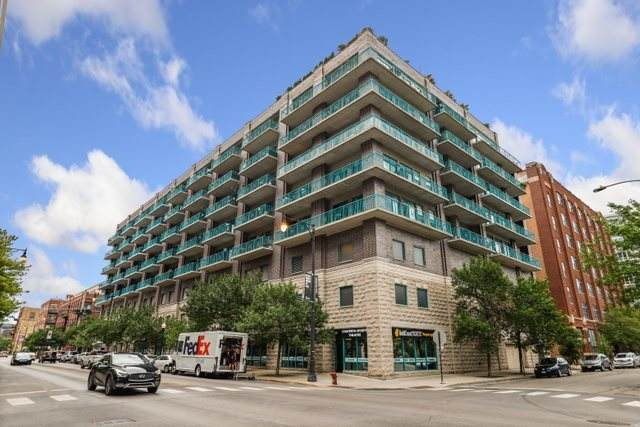 910 W Madison Street #406, Chicago, IL 60607 (MLS #11136334) :: Lux Home Chicago