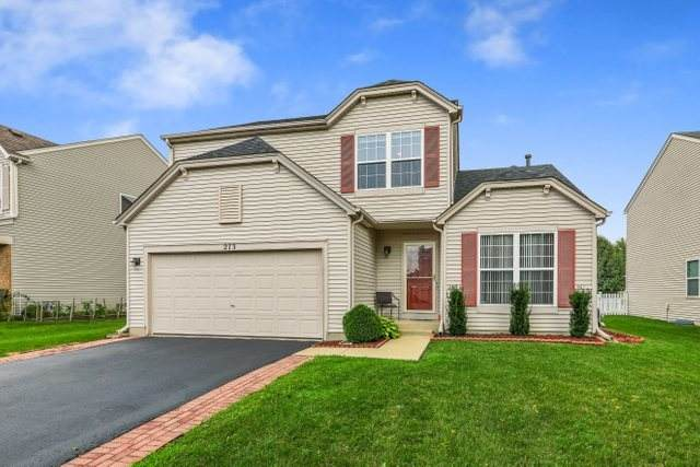 273 W Daisy Circle, Romeoville, IL 60446 (MLS #11168705) :: Carolyn and Hillary Homes