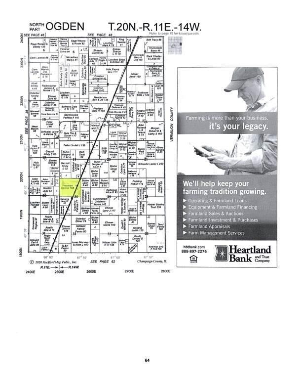 1972 County Road 2500 E, ST. JOSEPH, IL 61873 (MLS #11209295) :: Ryan Dallas Real Estate