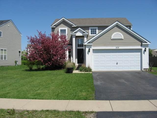 1414 Broadlawn Drive, Plainfield, IL 60586 (MLS #11227983) :: Littlefield Group