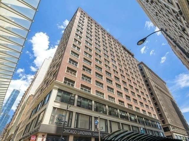 5 N Wabash Avenue #1706, Chicago, IL 60602 (MLS #11247789) :: Angela Walker Homes Real Estate Group