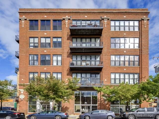 215 N Aberdeen Street 410B, Chicago, IL 60607 (MLS #11249628) :: John Lyons Real Estate