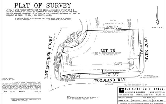 LOT 76 S Timbercreek Court, Shorewood, IL 60431 (MLS #09561013) :: John Lyons Real Estate