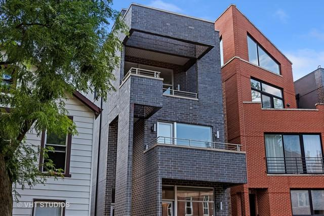 833 N Hermitage Avenue #3, Chicago, IL 60622 (MLS #09694136) :: Property Consultants Realty