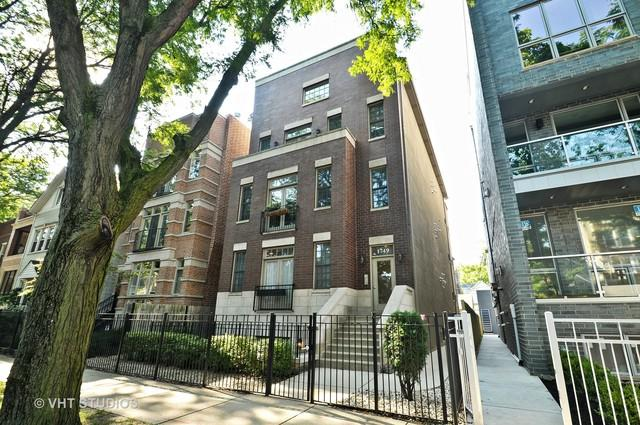 1749 W Roscoe Street #1, Chicago, IL 60657 (MLS #09724856) :: The Perotti Group