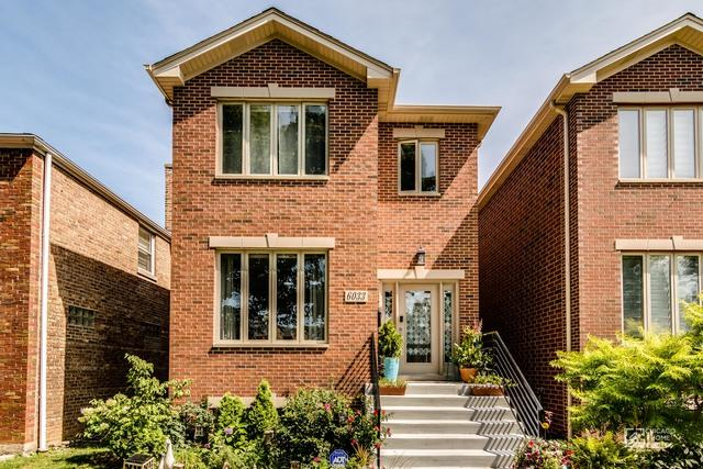 6033 N Whipple Street, Chicago, IL 60659 (MLS #09734308) :: Property Consultants Realty