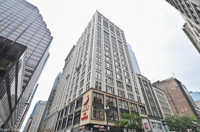 8 W Monroe Street #807, Chicago, IL 60603 (MLS #09741823) :: Berkshire Hathaway Koenig Rubloff - Carroll Real Estate Group