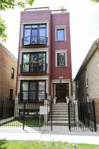 832 N Washtenaw Avenue #1, Chicago, IL 60622 (MLS #09754655) :: Domain Realty