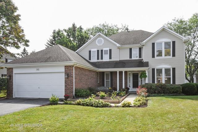 911 Saugatuck Trail, Vernon Hills, IL 60061 (MLS #09757434) :: Helen Oliveri Real Estate