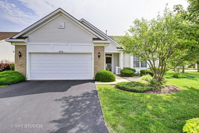 755 Pentwater Road, Romeoville, IL 60446 (MLS #09778446) :: The Wexler Group at Keller Williams Preferred Realty