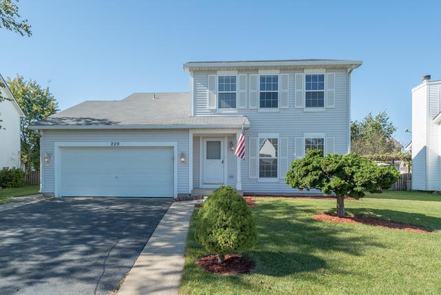 220 Stamford Lane, Romeoville, IL 60446 (MLS #09778869) :: The Wexler Group at Keller Williams Preferred Realty