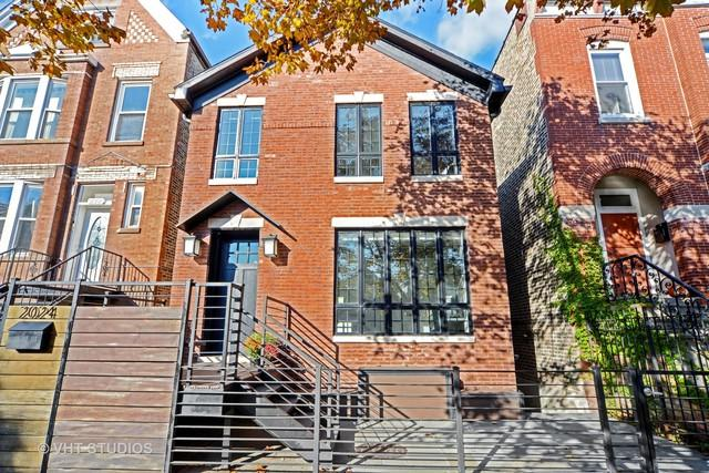 2024 W Homer Street, Chicago, IL 60647 (MLS #09801521) :: Property Consultants Realty