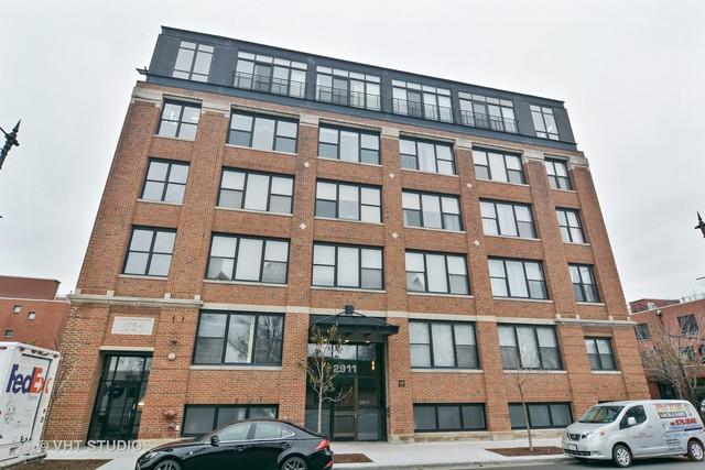 2911 N Western Avenue #508, Chicago, IL 60618 (MLS #09803520) :: Domain Realty