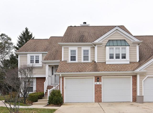383 Covington Terrace #383, Buffalo Grove, IL 60089 (MLS #09803546) :: Helen Oliveri Real Estate