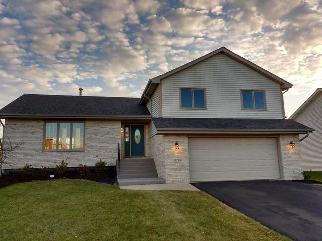 3719 Dewey Avenue, Richton Park, IL 60471 (MLS #09842443) :: The Dena Furlow Team - Keller Williams Realty
