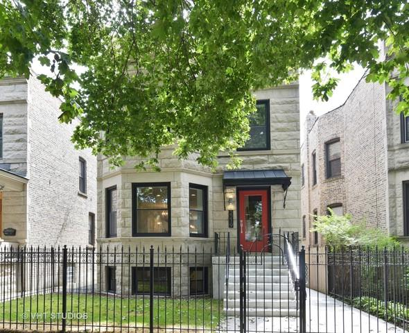 2219 W Leland Avenue, Chicago, IL 60625 (MLS #09864076) :: The Dena Furlow Team - Keller Williams Realty