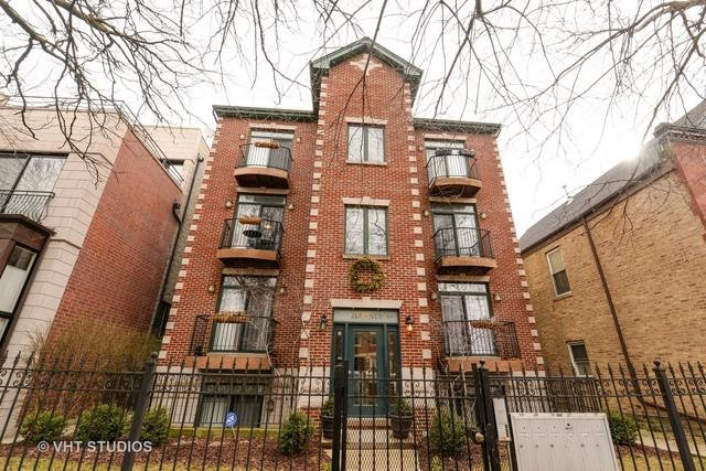 919 N Honore Street 2N, Chicago, IL 60622 (MLS #09864586) :: The Dena Furlow Team - Keller Williams Realty