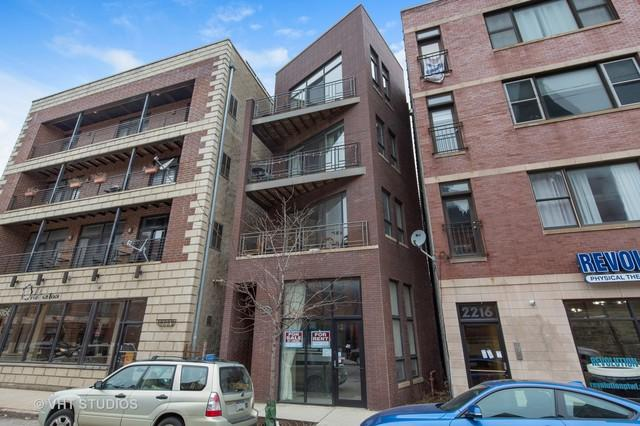 2220 W North Avenue #4, Chicago, IL 60647 (MLS #09864646) :: The Dena Furlow Team - Keller Williams Realty