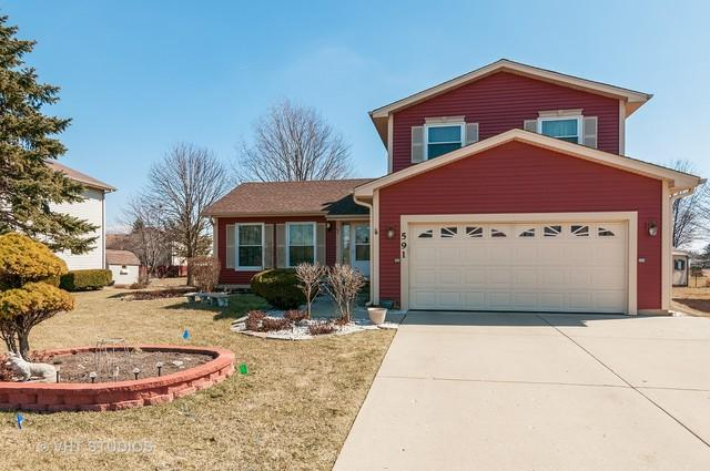 591 Woodcrest Court, Carol Stream, IL 60188 (MLS #09879787) :: The Jacobs Group