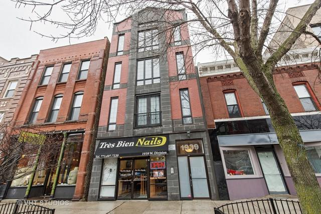 1939 W Division Street R4, Chicago, IL 60622 (MLS #09883708) :: Berkshire Hathaway Koenig Rubloff - Carroll Real Estate Group