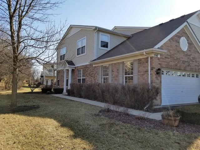 1567 Millbrook Drive #1567, Algonquin, IL 60102 (MLS #09893214) :: Domain Realty