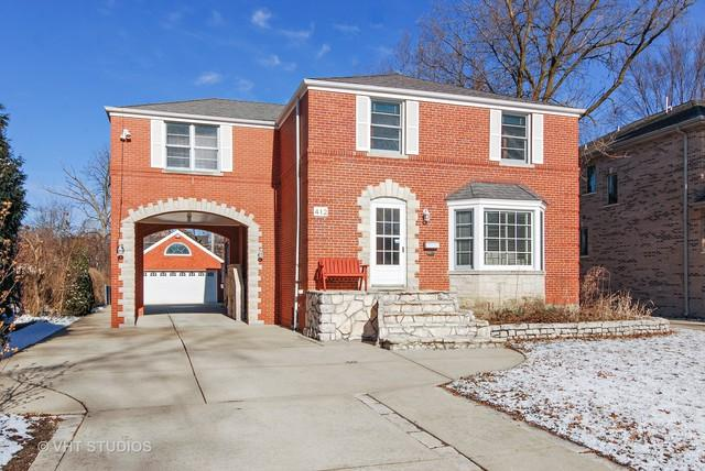 412 Uvedale Road, Riverside, IL 60546 (MLS #09908870) :: The Wexler Group at Keller Williams Preferred Realty