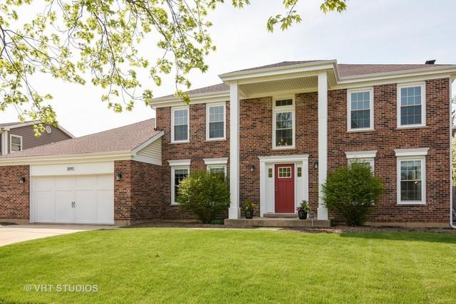 3890 Charlemagne Drive, Hoffman Estates, IL 60192 (MLS #09947181) :: Lewke Partners