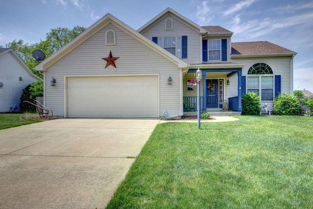 503 Winston Drive, ST. JOSEPH, IL 61873 (MLS #09948524) :: Ryan Dallas Real Estate