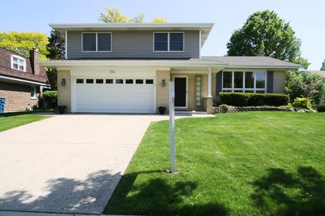 311 Langley Drive, Schaumburg, IL 60193 (MLS #09957930) :: Lewke Partners