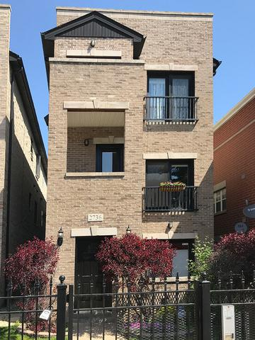 2736 W Augusta Boulevard #2, Chicago, IL 60622 (MLS #09961727) :: The Saladino Sells Team