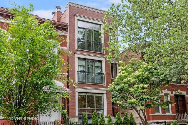 1028 N Wood Street #1, Chicago, IL 60622 (MLS #09993555) :: The Perotti Group