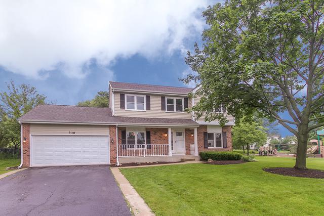530 Yardley Drive, Carol Stream, IL 60188 (MLS #09994546) :: Ani Real Estate