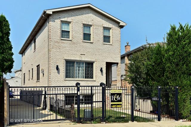 5924 S Menard Avenue, Chicago, IL 60638 (MLS #10043807) :: The Jacobs Group