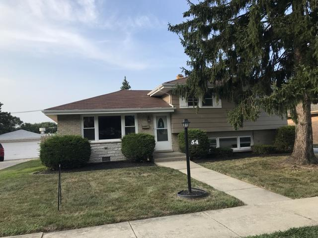54 E 160th Place, South Holland, IL 60473 (MLS #10053501) :: The Jacobs Group