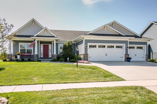 1211 Morningside Lane, Mahomet, IL 61853 (MLS #10068864) :: Ryan Dallas Real Estate