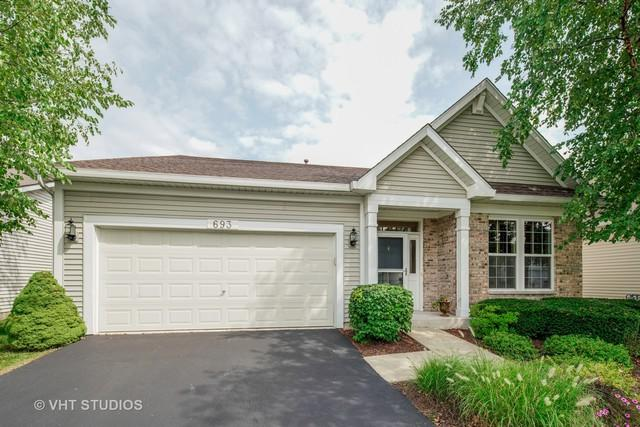 693 S Mecosta Lane, Romeoville, IL 60446 (MLS #10069271) :: The Jacobs Group
