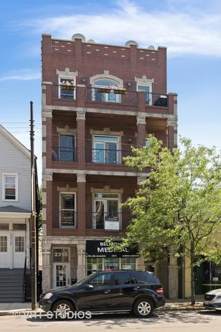 2317 W Belmont Avenue #2, Chicago, IL 60618 (MLS #10070622) :: Leigh Marcus | @properties