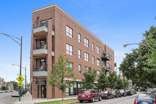 3047 N Oakley Avenue #203, Chicago, IL 60618 (MLS #10088984) :: Leigh Marcus   @properties