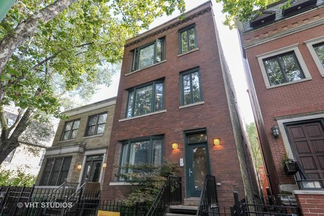 2023 W St Paul Avenue #3, Chicago, IL 60647 (MLS #10107727) :: Leigh Marcus | @properties