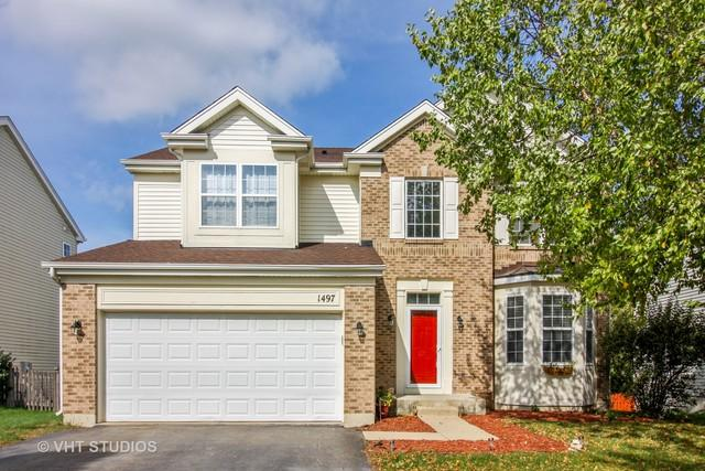 1497 Waterside Drive, Bolingbrook, IL 60490 (MLS #10111049) :: The Wexler Group at Keller Williams Preferred Realty