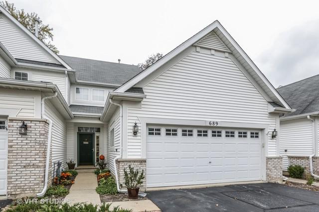 689 Shoreline Drive #689, Grayslake, IL 60030 (MLS #10121612) :: Baz Realty Network   Keller Williams Preferred Realty