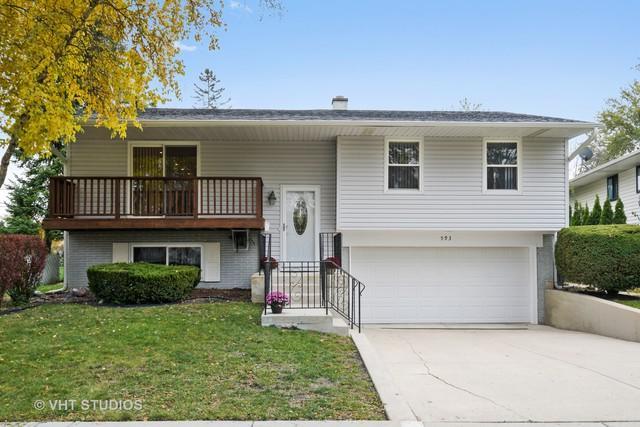 593 Elmwood Drive, Buffalo Grove, IL 60089 (MLS #10124236) :: Ani Real Estate