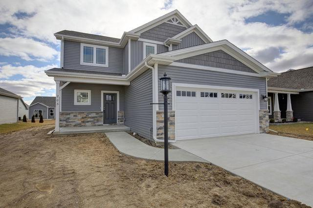 203 Cattail Avenue, Savoy, IL 61874 (MLS #10128859) :: Ryan Dallas Real Estate