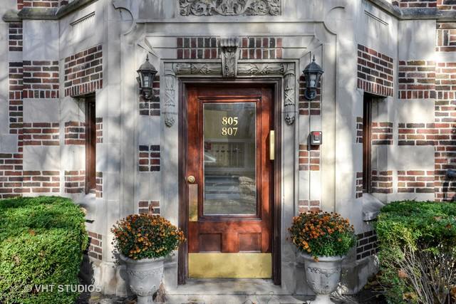 807 Reba Place #1, Evanston, IL 60202 (MLS #10136589) :: Ani Real Estate