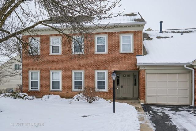 1412 Shore Court D1, Wheeling, IL 60090 (MLS #10248874) :: Helen Oliveri Real Estate