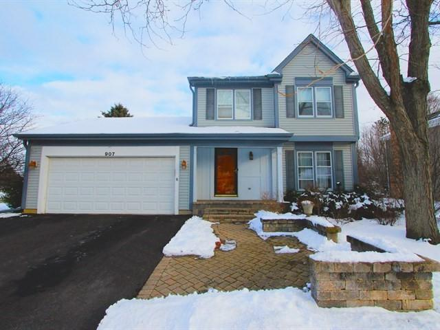 907 Holly Circle, Lake Zurich, IL 60047 (MLS #10251639) :: Helen Oliveri Real Estate