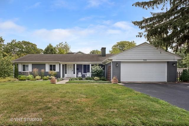 500 W Meadow Drive W, Wilmette, IL 60091 (MLS #10253759) :: The Wexler Group at Keller Williams Preferred Realty